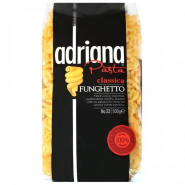 Макаронные изделия Adriana Exclusive № 33 спирали, 500 гр., пластиковый пакет