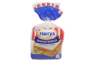 Хлеб Harrys для сендвича пшеничный, 470 гр., пакет