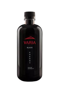 Вода VARIA газированная black cherry, 550 мл., ПЭТ