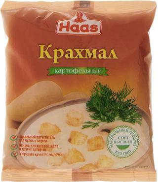 Крахмал картофельный Haas