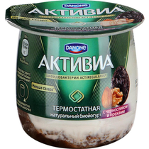 Йогурт Активиа термост 170г ф-8 чернослив орехи