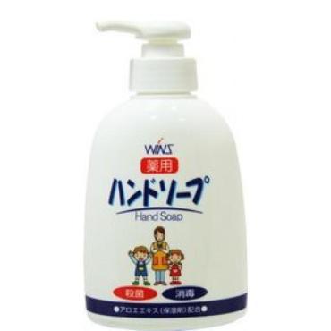 Жидкое мыло WINS для рук с восстанавливающим эффектом и экстрактом алоэ