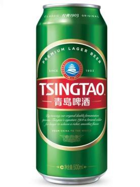 Пиво Tsingtao светлое фильтрованное пастеризованное 4,7%