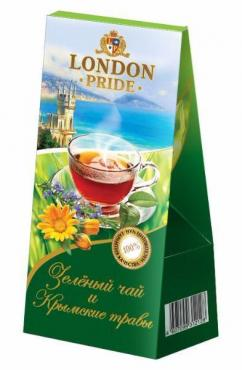 Чай London Pride Зелёный и Крымские травы