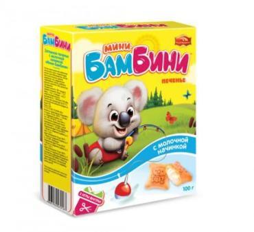 Печенье Черемушки Мини-Бамбини Ванильное 150 гр.