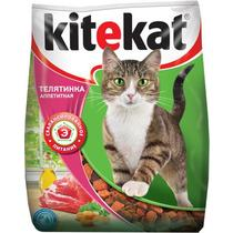 Корм сухой для кошек телятинка аппетитная Kitekat 800 гр. Пластиковый пакет