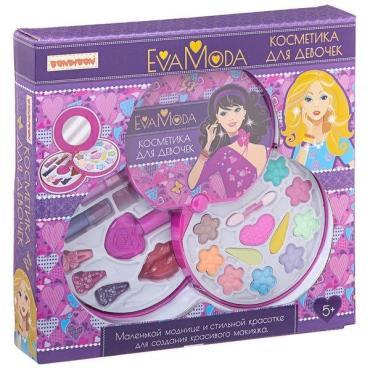 Набор детской декоративной косметики Bondibon Eva Moda, 260 гр., картонная коробка