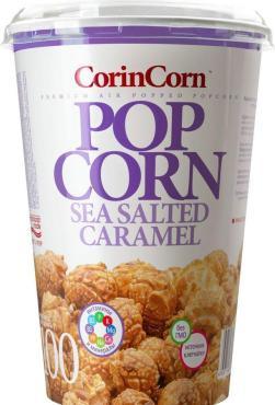 Попкорн карамель сладко-соленый, CorinCorn, 100 гр, ПЭТ