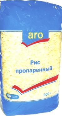 Крупа Aro рис пропаренный