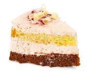 Пирожные Слоянка Сладчайшие с нежным кремом