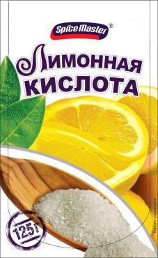 Лимонная кислота Spice Master