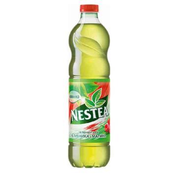 Чай холодный зеленый без газа со вкусом малины Nestea, 1,5 мл., ПЭТ
