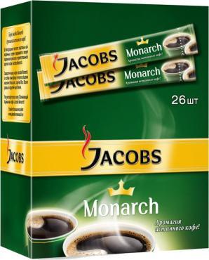 Кофе Jacobs Monarch сублимированный 26 стиков
