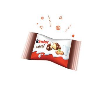 Батончик Bueno mini шоколадный, Kinder, 5.4 гр., флоу-пак