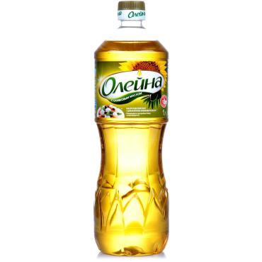 Масло подсолнечное Олейна Рафинированное с добавлением оливкового