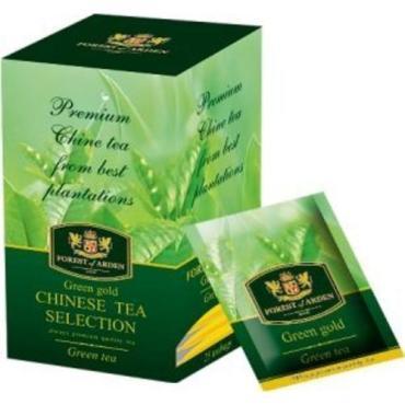 Чай зеленый Forest of arden Green Gold 25 пакетов