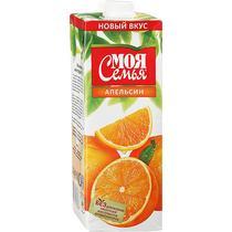 Нектар Моя Семья апельсин 1 л.