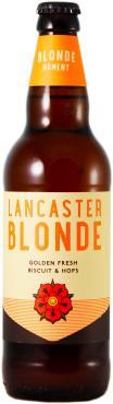 Пиво Lancaster Blonde светлое нефильтрованное 4%