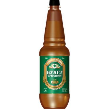 Пиво Букет Чувашии Кер сари светлое 5,3%