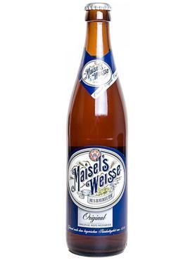 Пиво Maisel's Weisse Original светлое нефильтрованное 5,2%