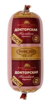Колбаса Микоян Докторская вареная