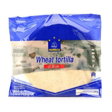 Тортилья Horeca Select Пшеничная 25см 12шт.