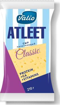 Сыр Atleet Classic Тильзитер полутвердый фасованный 45%