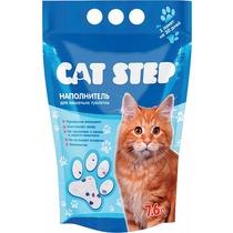 Наполнитель Cat Step для кошачьего туалета силикагелевый