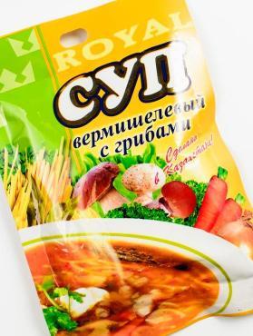 Суп Royal Food Вермишелевый с грибами
