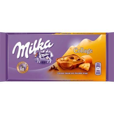 Шоколад Milka Collage Fudge