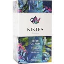 Чай чёрный пакетированный Niktea Kenya Sapphire 25 пак. 50 гр.