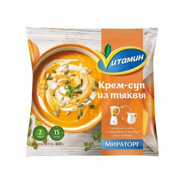Полуфабрикат Vитамин Крем-суп из тыквы
