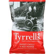 Чипсы Tyrrells картофельные натуральные со вкусом сладкого переца чили и красного перца
