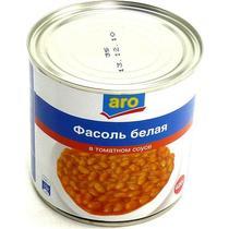 Фасоль Fine Life белая в томатном соусе