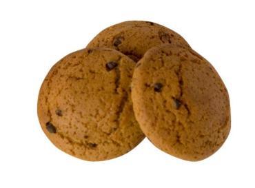 Печенье Динсладия Овсяное с шоколадной крошкой