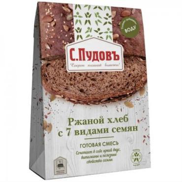 Смесь С.Пудовъ Ржаной хлеб с 7 видами семян