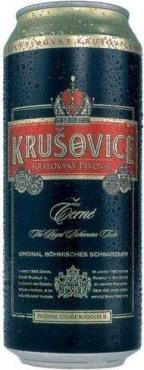 Пиво тёмное Krusovice Cerne солодовое фильтрованное пастеризованное 3,8% 0,5 л.