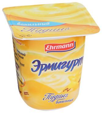 Пуддинг молочный Эрмигурт Ванильный 3%
