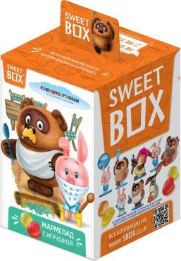 Мармелад Конфитрейд Sweet box Винни-Пух с игрушкой