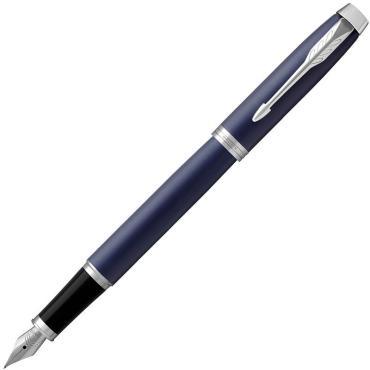 Ручка перьевая Parker Im Matte Blue Ct синяя, 0,8 мм.