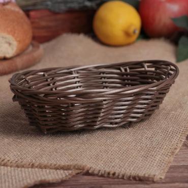 Корзинка для фруктов и хлеба Доляна Шоко 19 × 13 × 5 см.