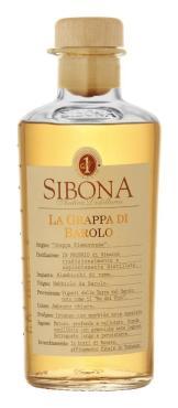 Вино Граппа Sibona La Grappa di Barolo, 500 мл., стекло