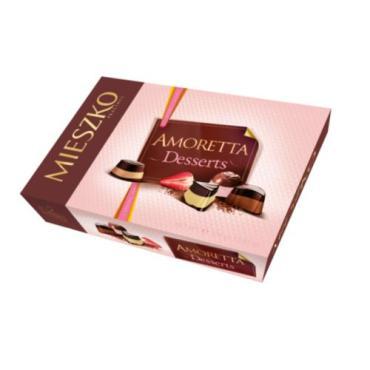 Кондитерские изделия Mieszko Amoretta Desserts Chokolates