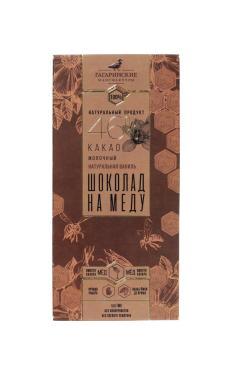Шоколад Шоколад На Меду ПРЕМИУМ Молочный 46% какао Натуральная Ваниль