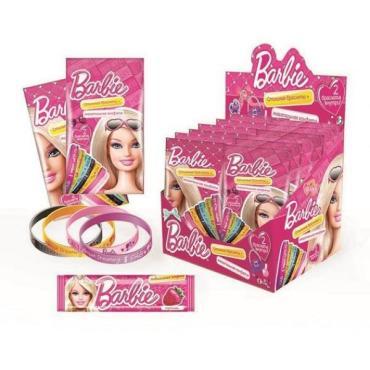 Конфета Сладкая Сказка Barbie жевательная Стильные браслеты