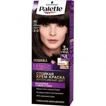Крем-краска для волос Темно-каштановый №N2 Palette