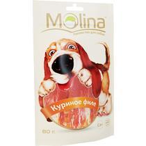 Корм влажный для собак куриное филе Molina 80 гр. Дой-пак