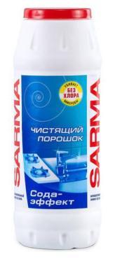 Чистяший порошок Sarma Сода-эффект Без хлора