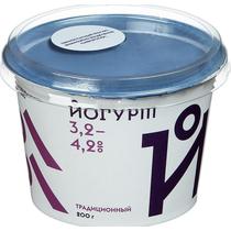 Йогурт Братья Чебурашкины традиционный 3,2 - 4,2%