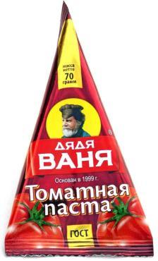 Томатная паста Дядя Ваня 70 гр